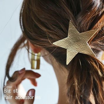 Star Motifs Gold Hair Pallet
