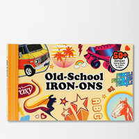 Urban Outfitters - Old-School Iron-Ons By Chronicle Books