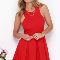 Mission Com-pleat Red Dress