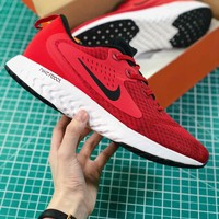 Nike Odyssey React 3 Red Sport Running Shoes - Best Online Sale