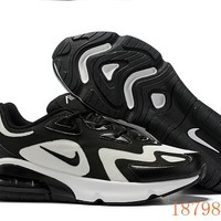 HCXX 19Aug 011 Nike Air Max 200 Royal Pulse AQ2568-002 Mesh Causal Sports Sneakers Slow Shock Running Shoes