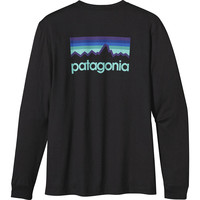 Patagonia Line Logo T-Shirt - Long-Sleeve - Men's