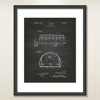 School Bus 1937 Patent Art Illustration - Drawing - Printable INSTANT DOWNLOAD - Get 5 Colors Background