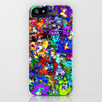 Monsters in my Head iPhone Case for iphone 5, 4S, 4, 3GS, 3G by Alice Gosling | Society6