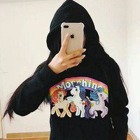 MOSCHINO Women Hot Hoodie Cute Sweater-5