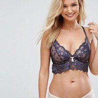 Pour Moi Amour Underwired Bralette C-G Cup at asos.com