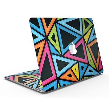Vivid Retro Overlap - MacBook Air Skin Kit