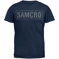 Sons of Anarchy - Samcro Cracked T-Shirt