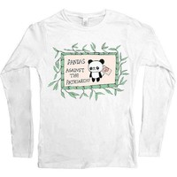 Pandas Against The Patriarchy -- Women's Long-Sleeve