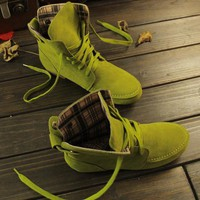 Autumn and Winter Boots Snow Boots for Women and Men Martin Boots Genuine Leather Boots Couples Shoes-1