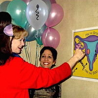 Fun Baby Shower Game Pin the Sperm on the Egg