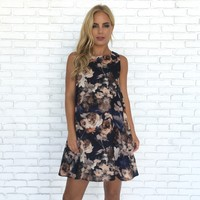 Sweet Anne Floral Shift Dress
