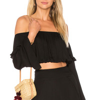 ale by alessandra X REVOLVE Malu Crop Top in Black | REVOLVE