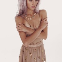 ROMEO AND JULIET RODEO SHORTS at Wildfox Couture in  DUST STORM