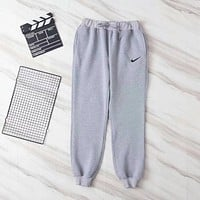 NIKE Woman Men Casual Running Pants Trousers Sweatpants