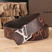 Louis Vuitton LV Superme Girls Boys Belt