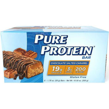 Pure Protein Bar - Chocolate Salted Caramel - 50 Grams - 1 Case