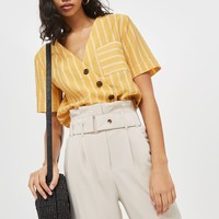 Paperbag Tapered Trousers - New In Fashion - New In