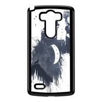 Wolf Song 3 Black Hard Plastic Case for LG G3 by Balazs Solti