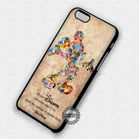 Dreams Quote Mickey Mouse - iPhone 7 6 Plus 5c 5s SE Cases & Covers