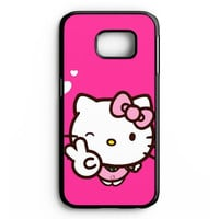 Hello Kitty Girl Samsung Galaxy S6 Edge Plus Case