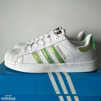 """""""Adidas Superstar"""" Unisex Casual Small White Shoes Sneakers Couple Shell Head Plate Shoes"""