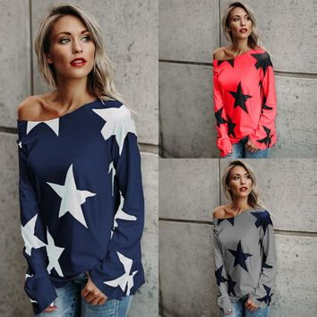 Star Off The Shoulder Tee