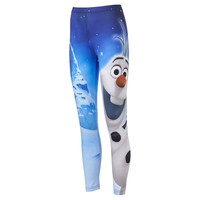 Disney Frozen Olaf Snow Day Leggings - Juniors