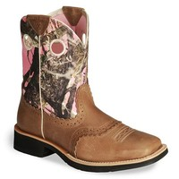 Ariat Camo Fatbaby Cowgirl Boot - Square Toe - Sheplers