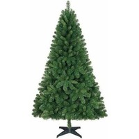 Holiday Time Unlit 6.5' Jackson Spruce Green Artificial Christmas Tree - Walmart.com
