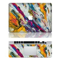 Abstract Macbook Skin Decal Stickers Macbook Top Decal Front Stickers for Apple Macbook 13 15 Inch