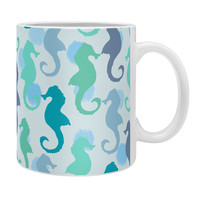 Lisa Argyropoulos Seahorses And Bubbles Coffee Mug
