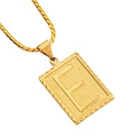 Jewelry New Arrival Shiny Stylish Gift Alloy Alphabet Necklace [10819553539]