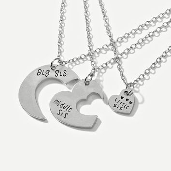 Three Sisters BFF Necklace