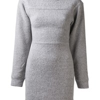 T By Alexander Wang Sweatshirt Dress