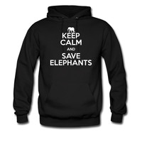 keep calm and save elephants hoodie sweatshirt tshirt