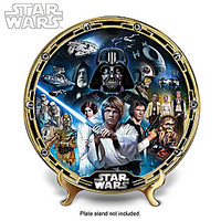 """STAR WARS A New Hope"" Masterpiece Collector Plate"