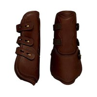 Dover Premier Leather Open Front Horse Boots | Dover Saddlery