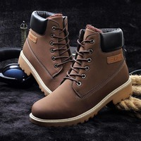 Retro Winter Warm Boots Casual Shoes