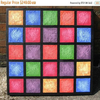 "canvas wall extra large art "" Colour blocks "" huge paintings on canvas sculpture living room decor hanging large 3 sizes"