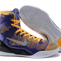 Nike Zoom Kobe Bryant 9 Elite Lakers Color Basketball Shoes