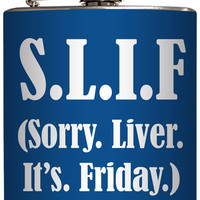 """""""S.I.L.F."""" Flask by Liquid Courage"""