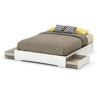 Basic Platform Bed with Storage - South Shore