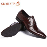 luxury men leather shoes oxford black brown vintage fashion shoes for men wedding business office