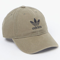 adidas Washed Canvas Baseball Cap at PacSun.com