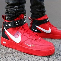 NIKE Air force 1 High-top sneakers, stylish casual shoes, retro running shoes, breathable