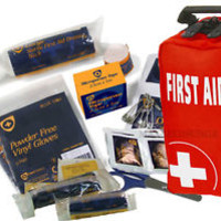 72 Piece FIRST AID KIT, Travel Home Car Van, Holiday, Sport, Bike, Work, Office