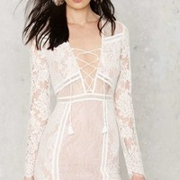 The Jetset Diaries Carribean Lace Dress