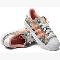 """Adidas"" Fashion Shell-toe Flats Sneakers Sport Shoes Maple leaf print"