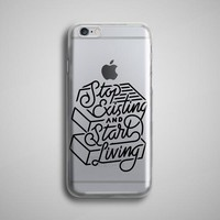 Start Living Transparent iPhone 8 Case Clear